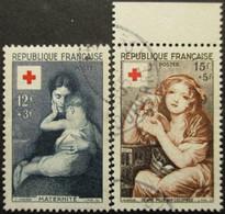 FRANCE N°1006 Et 1007 Oblitérés - Sellos