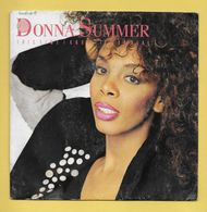 Disque Vinyle 45 Tours : DONNA SUMMER :  THIS  TIME I KNOW  IT'S FOR  REAL..Scan C  : Voir 2 Scans - Disco, Pop