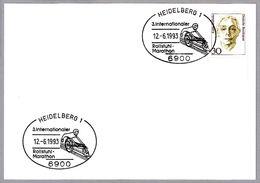 MARATON EN SILLA DE RUEDAS - WHEELCHAIR MARATHON. Heidelberg 1993 - Handisport