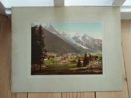 17.000. PZ - Chamonix Et Le Mont-Blanc - Lithographies