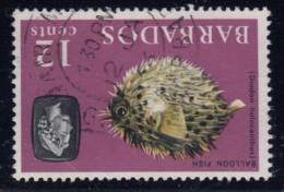 "Barbados, SG 329w, Used ""Watermark Inverted"" Variety - Barbados (...-1966)"