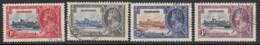 Barbados, Sc 186-189 (SG 241-244), Used - Barbados (...-1966)
