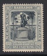 Barbados, Sc 110 (SG 158), MLH - Barbados (...-1966)