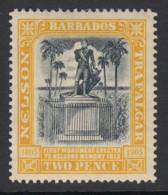 Barbados, Sc 111 (SG 161), MHR - Barbados (...-1966)