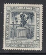 Barbados, Sc 110 (SG 158), MHR - Barbados (...-1966)