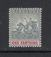 Barbados, Sc 90 (SG 135), MHR - Barbados (...-1966)