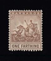 Barbados, Sc 91 (SG 163), MHR - Barbados (...-1966)