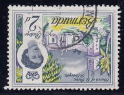 """Bermuda, SG 164w, Used """"Watermark Inverted"""" Variety - Bermudes"""