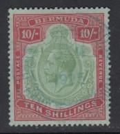 Bermuda, Sc 96 (SG 92), Used (crease) - Bermudes
