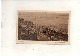 Rio-de-Janeiro (Brésil) : Paquebot à Quai Dans Le Port Commercial Env 1930 (animé) PF - Rio De Janeiro