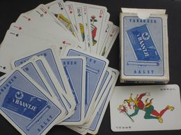 Compleet Oud Spel Kaarten 32+1joker Tabakken 't HAANTJE - AALST Tabac Tabak - 32 Carte