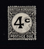 British Honduras, Sc J3 (SG D3), Used - British Honduras (...-1970)