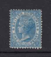 British Honduras, Sc 4 (SG 5), Small Part OG - British Honduras (...-1970)