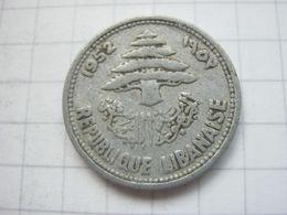 Lebanon , 5 Piastres 1952 - Libanon