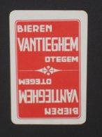 Oude Speelkaart BIEREN Brouwerij VANTIEGHEM OTEGEM - Cartes à Jouer