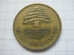 Lebanon , 25 Piastres 1961 - Libanon