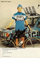 PHOTO CYCLISME GERT MALFAIT SIGNEE TEAM TEAM MARC SUPERIA 1979 - Wielrennen