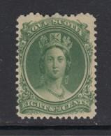 Nova Scotia, Sc 11 (SG 14), MLH - Unused Stamps