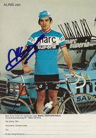 PHOTO CYCLISME JAN ALING SIGNEE TEAM TEAM MARC SUPERIA 1979 - Cyclisme