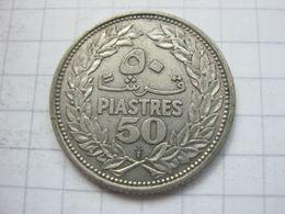 Lebanon , 50 Piastres 1952 - Libanon