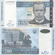 Malawi - 200 Kwacha 2003 UNC Pick 47b Lemberg-Zp - Malawi