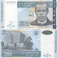 Malawi - 200 Kwacha 2004 UNC Pick 55a Lemberg-Zp - Malawi