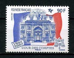 POLYNESIE 2007 N° 803 ** Neuf MNH Superbe  Cour Des Comptes Palais Cambon Paris - Polinesia Francese