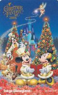 JAPAN MINT - TC JAPON NEUVE / MF 1002841 - DISNEY NOEL CHRISTMAS FANTASY 2006 - DISNEYLAND Phonecard - Disney
