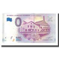 Finlande, Billet Touristique - 0 Euro, Finland - Riihimakï - Musée De Verre - Jetons & Médailles