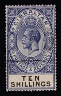 Gibraltar, Sc 91 (SG 106), Used - Gibraltar