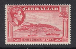 Gibraltar, Sc 109 (SG 123), MLH - Gibraltar
