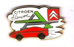 Pin's Automobile Citroen Alençon Zamac Arthus Bertrand - Arthus Bertrand