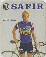 POSTES EN VERRE PATRICK LERNO TEAM SAFIR 1979 FORMAT 8 X 10 - Cyclisme