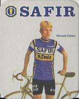 POSTES EN VERRE RONALD DELEN TEAM SAFIR 1979 FORMAT 8 X 10 - Cyclisme