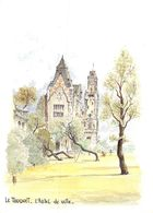 PIE-T-GB-19-1309 : LE TOUQUET. HOTEL DE VILLE PAR ROBERT LEPINE - Le Touquet
