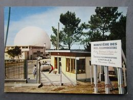 CP 22 PLEUMEUR BODOU - Station De Télécommunications Spaciales  - Station De Télévision Transatlantique 1970 - Pleumeur-Bodou