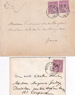 DDX 277 - ROULERS/ROESELARE - Petit Ensemble De 10 Documents 1888/1955 - Entetes Intéressantes - Otros