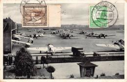 BERLIN TEMPELHOF  - Zentralflughafen - ( Aviation  1913 ) - Tempelhof