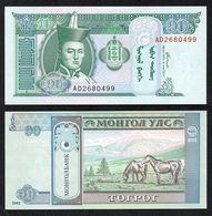 Mongolia - 10 Togrog 2002 P. 62b UNC Lemberg-Zp - Mongolie