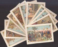 Série De 12 Images Chromos Sur Jeanne D'Arc  ///  Ref.  Juil.  20 - Artis Historia
