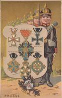 6 Chromos , Images :  Sur Les Décorations Militaires   ///  Ref.  Juil.  20 - Artis Historia