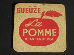 Oud Viltje GUEUZE  LA POMME BLANKENBERGE ( Brouwerij Brasserie Marchand?) - Sous-bocks