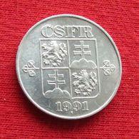 Czechoslovakia 10 Haleru 1991 KM# 146 *V2 Tchecoslovaquie Checoslovaquia Cecoslovacchia Tchèque Et  Slovaque - Checoslovaquia