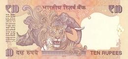 INDIA P. 102e 10 R 2012 UNC (2 Billets) - Inde