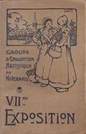 Les Artistes Du Nivernais  : Exposition : Livre 1902  ///  Ref.  Juil.  20 - Nevers