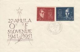 FDC YUGOSLAVIA 641-642 - FDC