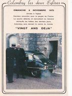 DERNIER REGARD SUR LE MONDE/COLOMBEY LES DEUX EGLISES (dil461) - Colombey Les Deux Eglises