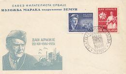 FDC YUGOSLAVIA 675-676 - FDC