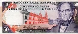 VENEZUELA 50 BOLIVARES 1995 P-65e  Aunc - Venezuela