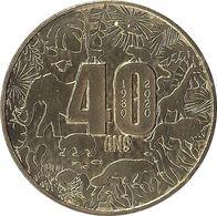 2020 MDP238 - SAINT-AIGNAN-SUR-CHER - ZooParc De Beauval 1 (40 Ans) / MONNAIE DE PARIS - Monnaie De Paris